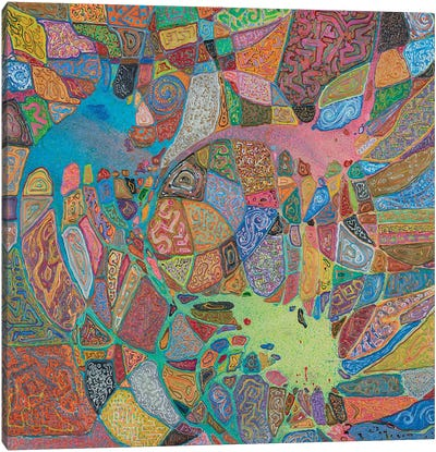Magma Magic Canvas Art Print