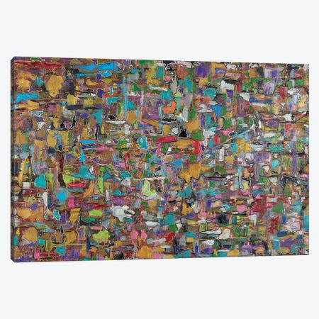 Multi Puzzle Canvas Print #FYL22} by Florencio Yllana Canvas Art