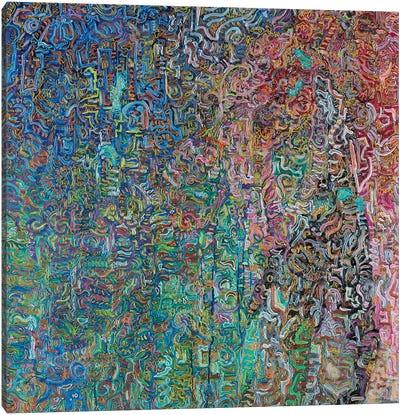 Spiral Flows Canvas Art Print