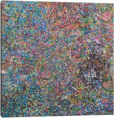 The Many Eyed Storm Canvas Art Print