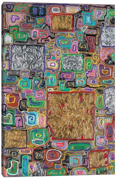 Splendor Block Series III Canvas Art Print