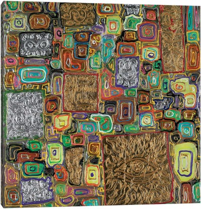 Splendor Block Series IV Canvas Art Print