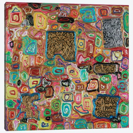 Splendor Block Series VII Canvas Print #FYL5} by Florencio Yllana Canvas Print