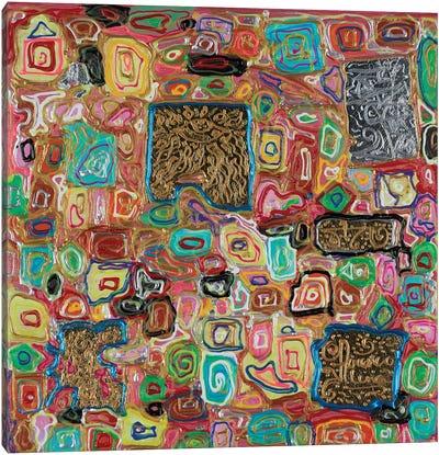 Splendor Block Series VII Canvas Art Print