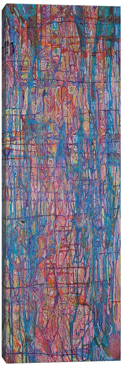 Cascade Series Pink Canvas Art Print