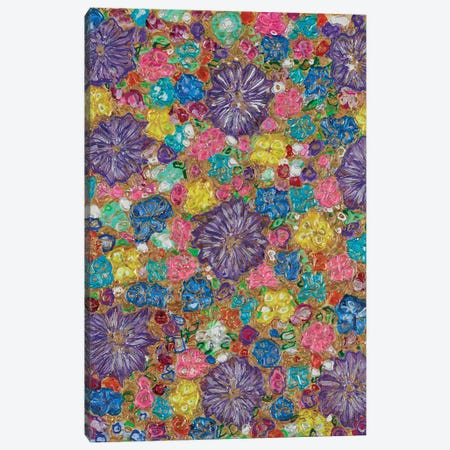 Florals I Canvas Print #FYL8} by Florencio Yllana Canvas Artwork