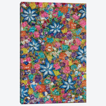 Florals II Canvas Print #FYL9} by Florencio Yllana Canvas Wall Art
