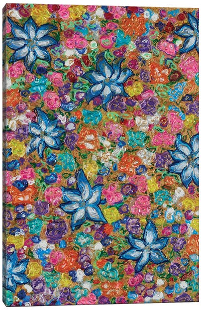 Florals II Canvas Art Print