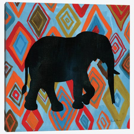 African Animal I Canvas Print #FZA10} by Farida Zaman Canvas Wall Art