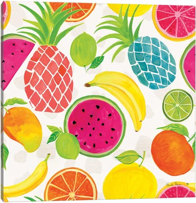 Tutti Frutti Pattern IIIA Canvas Art Print