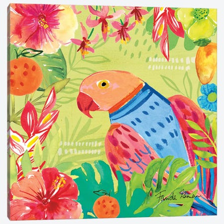 Tutti Frutti V Canvas Print #FZA115} by Farida Zaman Art Print