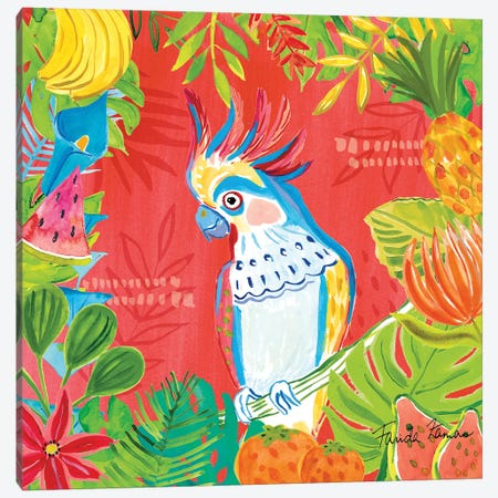 Tutti Frutti VII Canvas Print #FZA117} by Farida Zaman Canvas Print
