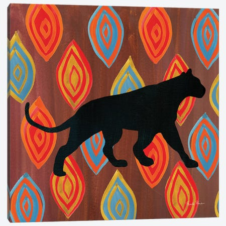 African Animal II 3-Piece Canvas #FZA11} by Farida Zaman Canvas Wall Art