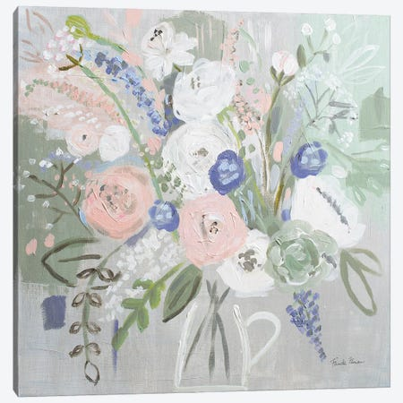 Floral Elegance Canvas Print #FZA149} by Farida Zaman Canvas Print