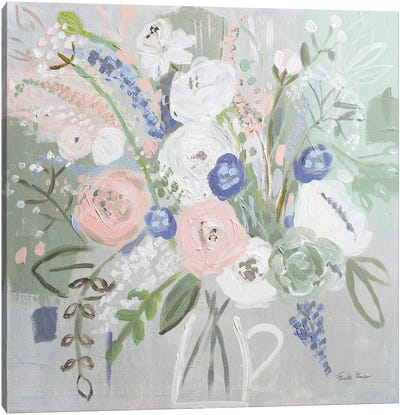 Floral Elegance Canvas Art Print