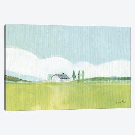 Fresh and Green Canvas Print #FZA161} by Farida Zaman Canvas Art Print