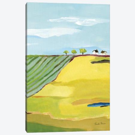 Golden Country Canvas Print #FZA162} by Farida Zaman Canvas Art Print