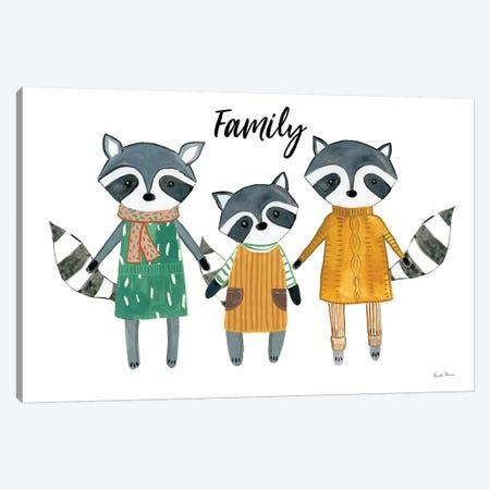 Neighborhood Pals X Family Canvas Print #FZA163} by Farida Zaman Canvas Print