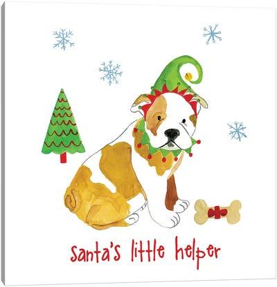 Christmas Critters I Canvas Art Print