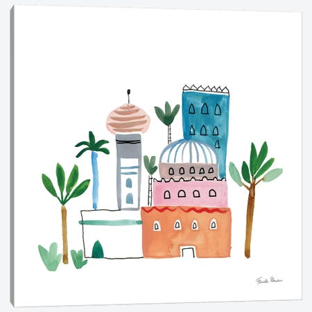 Home Sweet Home I 3-Piece Canvas #FZA175} by Farida Zaman Art Print