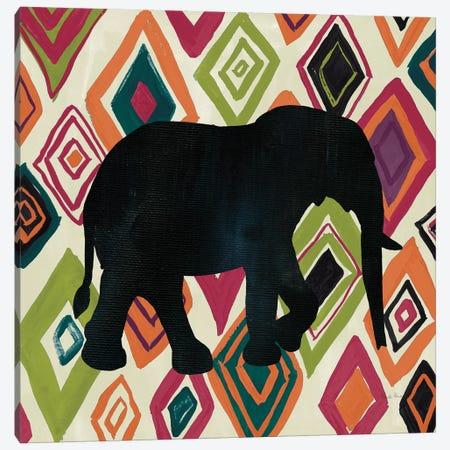African Animal I Jewel Canvas Print #FZA177} by Farida Zaman Canvas Art Print