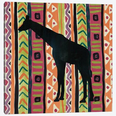 African Animal III Jewel Canvas Print #FZA178} by Farida Zaman Canvas Artwork