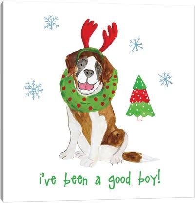 Christmas Critters II Canvas Art Print