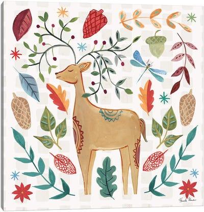 Whimsical Woodland III Canvas Art Print
