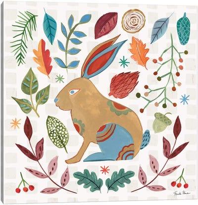 Whimsical Woodland V Canvas Art Print