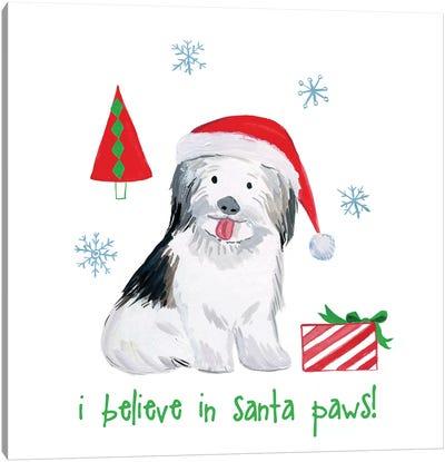 Christmas Critters III Canvas Art Print