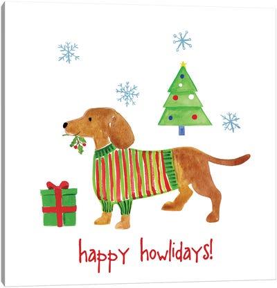 Christmas Critters IV Canvas Art Print