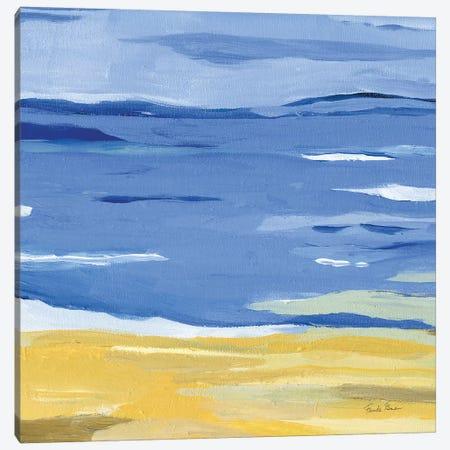 Coastal Abstract Canvas Print #FZA200} by Farida Zaman Canvas Artwork