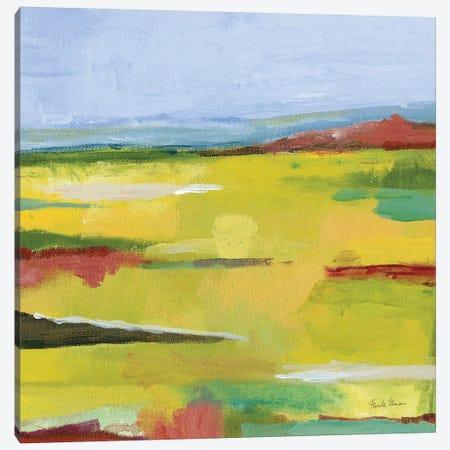 Landscape Abstract Canvas Print #FZA201} by Farida Zaman Canvas Wall Art