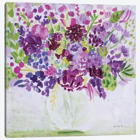 Garden Fun 3-Piece Canvas #FZA20} by Farida Zaman Art Print