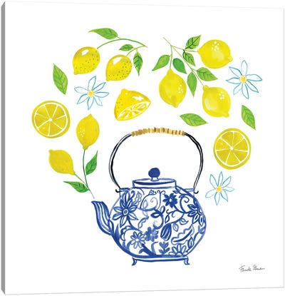 Organic Tea II Canvas Art Print