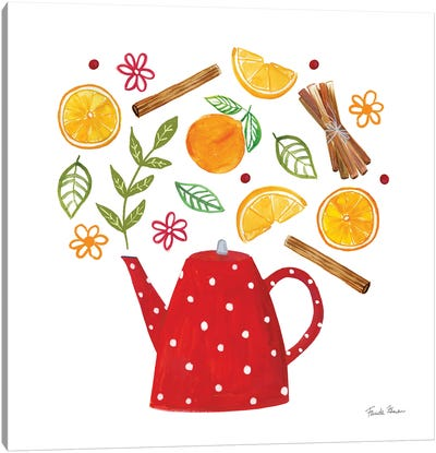 Organic Tea IV Canvas Art Print