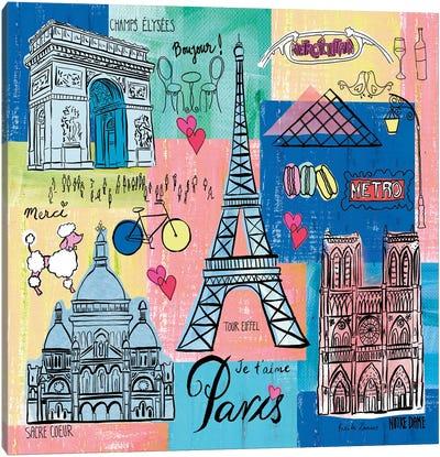 Global Travel II Canvas Art Print