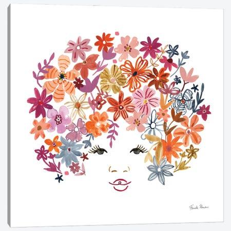 Floral Beauties I Canvas Print #FZA230} by Farida Zaman Art Print