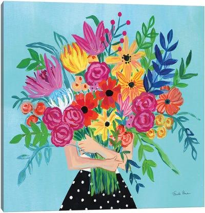 A Bunch Of Flowers II Canvas Art Print