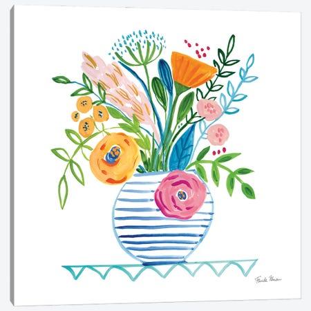 Bountiful Blooms I Canvas Print #FZA239} by Farida Zaman Canvas Art Print