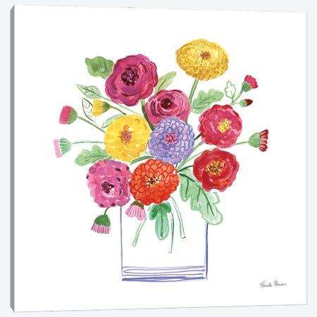 Mums Canvas Print #FZA250} by Farida Zaman Canvas Art Print