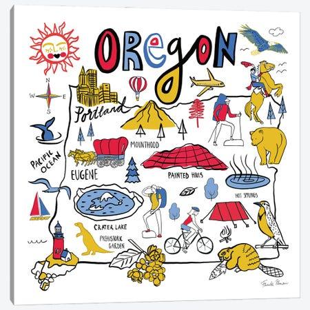 Oregon Canvas Print #FZA254} by Farida Zaman Canvas Art