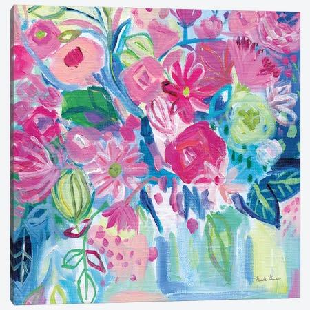 Spring Burst I Canvas Print #FZA261} by Farida Zaman Canvas Artwork