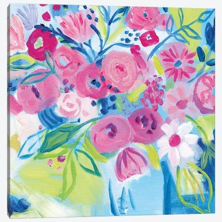 Spring Burst II Canvas Print #FZA262} by Farida Zaman Canvas Art