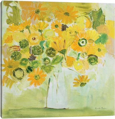 Summer Delight Canvas Art Print