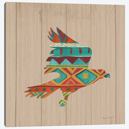 Southwestern Vibes III on Walnut Canvas Print #FZA37} by Farida Zaman Canvas Art Print