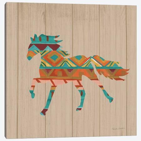 Southwestern Vibes IV on Walnut Canvas Print #FZA38} by Farida Zaman Canvas Art