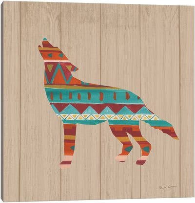 Southwestern Vibes VI on Walnut Canvas Art Print