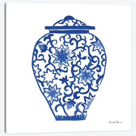 Chinoiserie III 3-Piece Canvas #FZA3} by Farida Zaman Canvas Wall Art