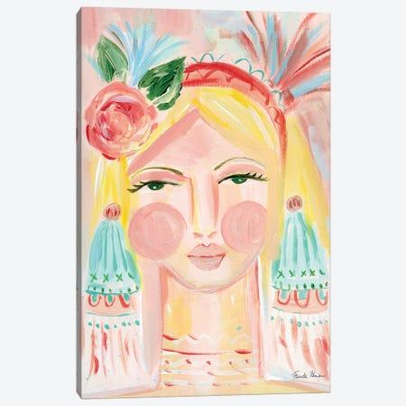 Fresh Face II Canvas Print #FZA43} by Farida Zaman Canvas Art Print